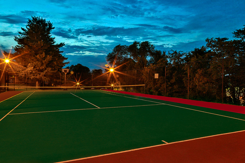 Cedar Point tennis court